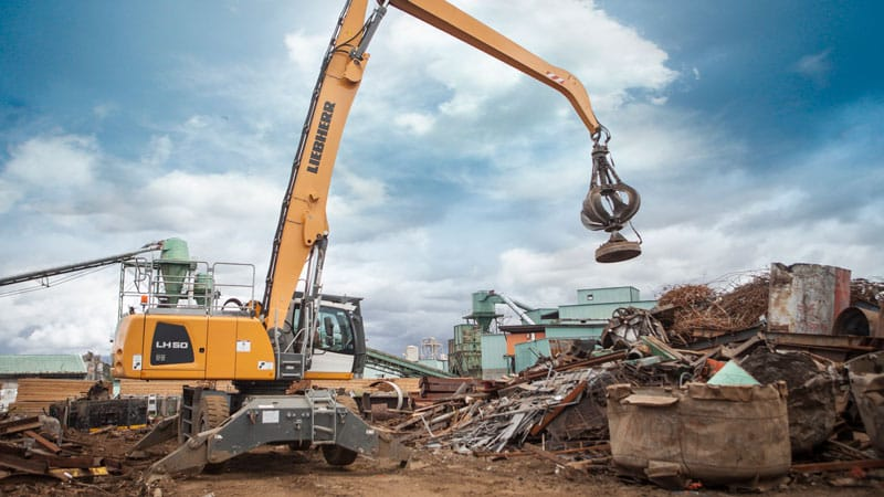 Scrap Metal Demolition Projects